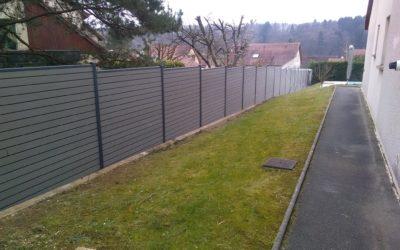Création d'une clôture