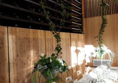 bouquet de table3 et décoration salle3