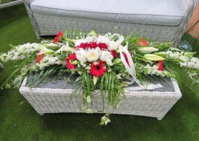 Centre de table d'honneur mariage