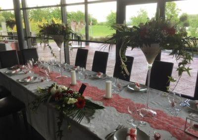 Décoration table événement mariage